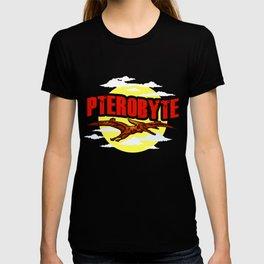 Funny Pterobyte Pterodactyl Dinosaur Flying Dino T-shirt