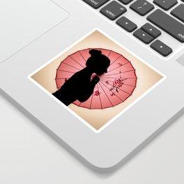 Jappo silhouette Sticker