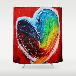 Love of colors Shower Curtain