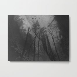 Snow attack Metal Print