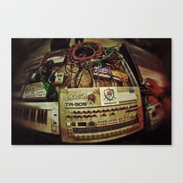 This Is Techno Canvas Print