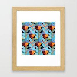 Blue Pohutukawa Framed Art Print