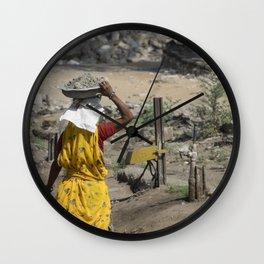 Jaipur Rubble Wall Clock