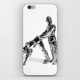 Droid Buttseks iPhone Skin