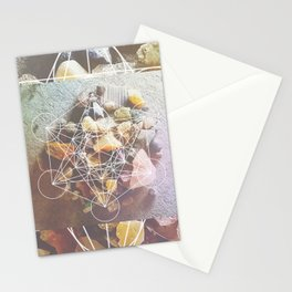 backyard stones Stationery Cards