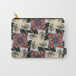 Simulacra Study Quilt Carry-All Pouch