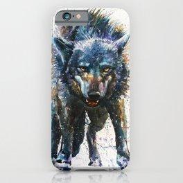 Wolf - last fight iPhone Case