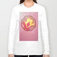 tulip Long Sleeve T-shirts featuring Tulip  by LoRo  Art & Pictures