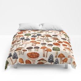Mushrooms Comforters