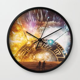 RUNAWAY (inspired by crywolf) Wall Clock