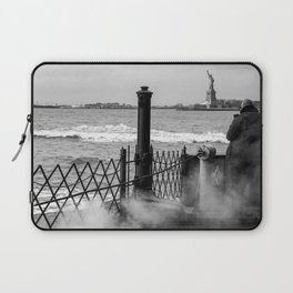 """The back of """"The Boat"""" Laptop Sleeve"""