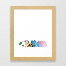 Sweets UP! Framed Art Print