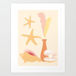 Conch Art Print