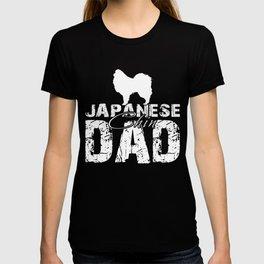 Japanese Chin Dad Funny Gift Shirt T-shirt