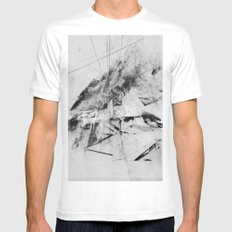 Network Mens Fitted Tee White MEDIUM