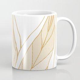 Snake Plants Gold Coffee Mug