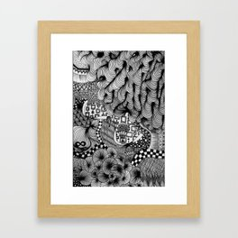Infinity (Blackbook No. 2) Framed Art Print