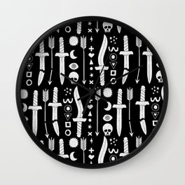 DUNGEON WEAPONS Wall Clock