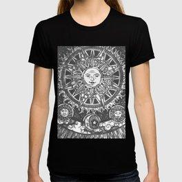 B&W Moon & Sun T-shirt