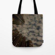 Shanghai night sky Tote Bag