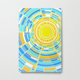 Summer breeze color test Metal Print