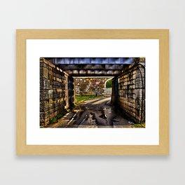 Kamelegdan Fortress Gate Overpass Framed Art Print