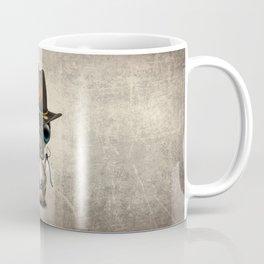 Baby Platypus Zombie Hunter Coffee Mug