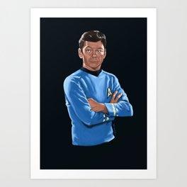 Doctor man Art Print