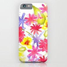 Fresh Flowers Slim Case iPhone 6s