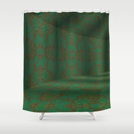Iconic Hollows 8 Shower Curtain