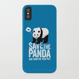 Save the Panda iPhone Case
