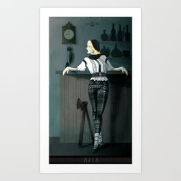 The Hatchet League  - Anca Art Print