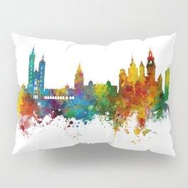 Krakow Poland Skyline Pillow Sham