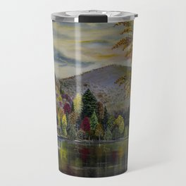 Before the Wind Blow the Colors of Fall Travel Mug