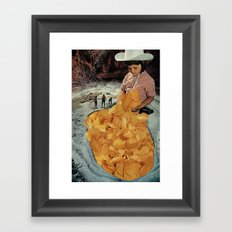 Gold Mine Framed Art Print