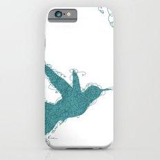 Bird Fly No. 1 (Aqua) Slim Case iPhone 6s