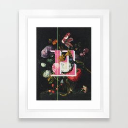 Letter E Framed Art Print