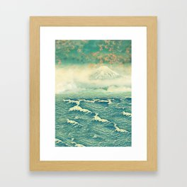 Returning to Naira Framed Art Print