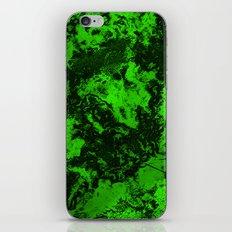 Galaxy in Green iPhone & iPod Skin