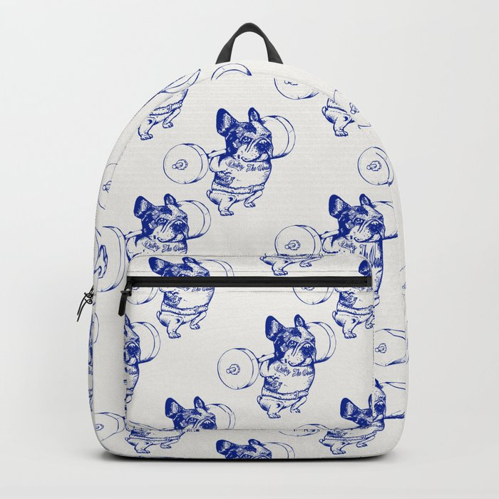 Frenchie Squat Backpack