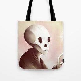 oil worshipper Tote Bag