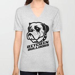 Bitcoin Bulldogs Unisex V-Neck