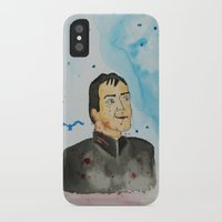 crowley iPhone & iPod Cases featuring supernatural crowley by meldemirci