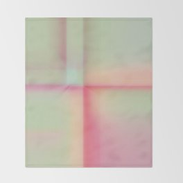 """""""Sherbert"""" pastel Colored Abstract Design Throw Blanket"""