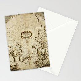 pole mercator Stationery Cards