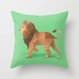 Lion. Throw Pillow