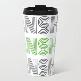 Banshee x3 - Gray/Green Travel Mug
