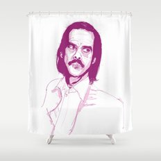Nick Cave Shower Curtain