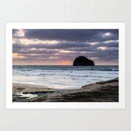Really Rugged Coast II Art Print