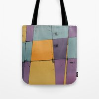 hot air balloon Tote Bags featuring Hot Air Balloon by Monty